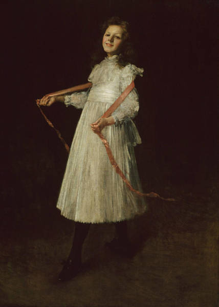 Wall Art - Painting - Alice by William Merritt Chase