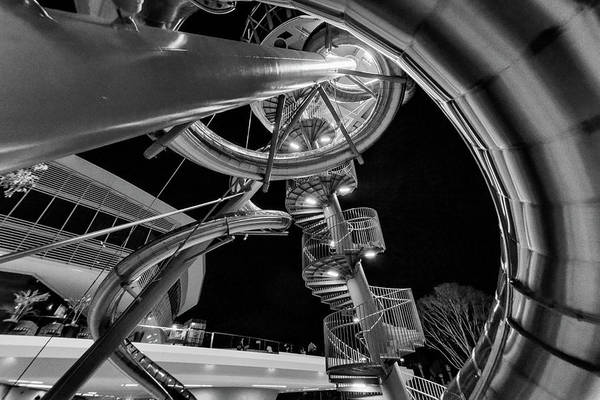 Photograph - Alien Cityscape by Steven Greenbaum