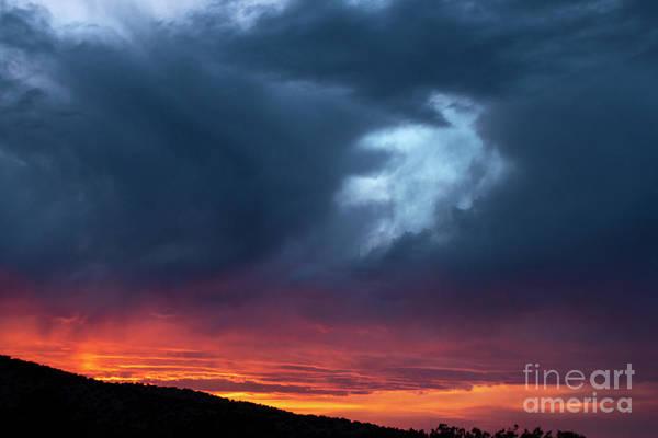Photograph - Alien Clouds by Steven Natanson