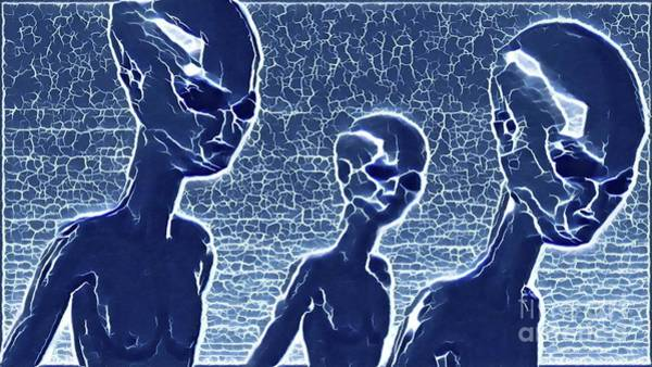 Wall Art - Painting - Alien Nation by Raphael Terra