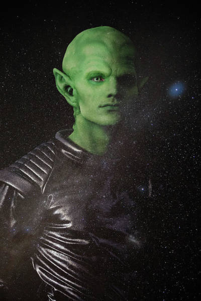 Art Print featuring the photograph Alien by Nicole Young