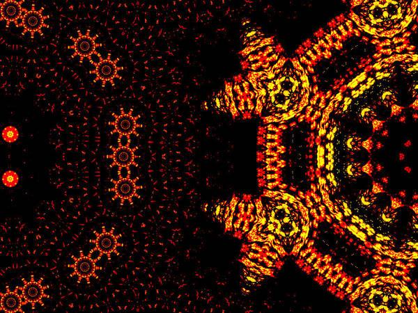 Digital Art - Alien Space Wars 7k by Artist Dot
