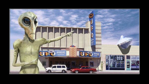 Wall Art - Photograph - Alien Vacation - Roswell by Mike McGlothlen