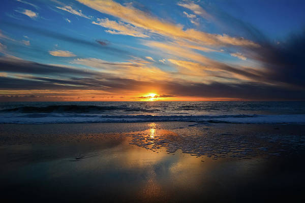 Photograph - Aliso Beach Laguna Beach Sunset by Kyle Hanson