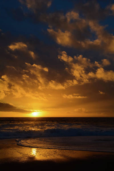 Photograph - Aliso Beach Sunset Portrait by Kyle Hanson