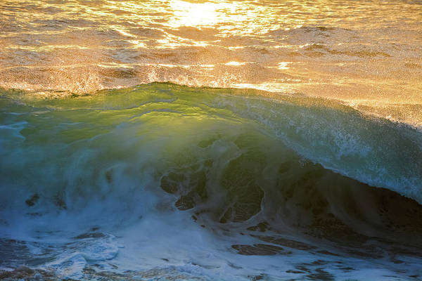 Photograph - Aliso Beach Wave Sunset by Kyle Hanson