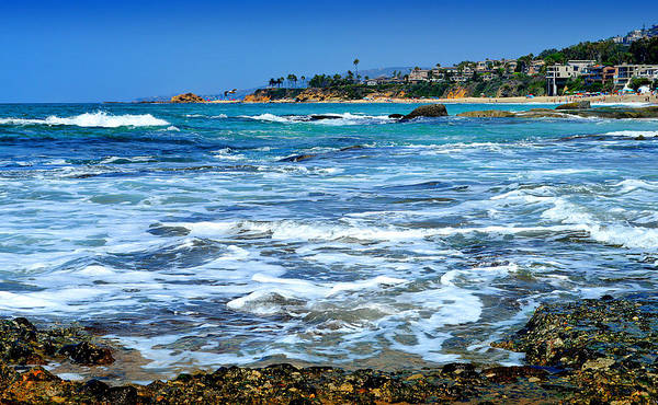 Sunbather Wall Art - Photograph - Aliso Point - Laguna Beach by Glenn McCarthy Art and Photography