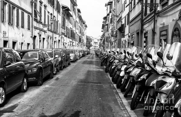 Photograph - All Lined Up In Florence by John Rizzuto