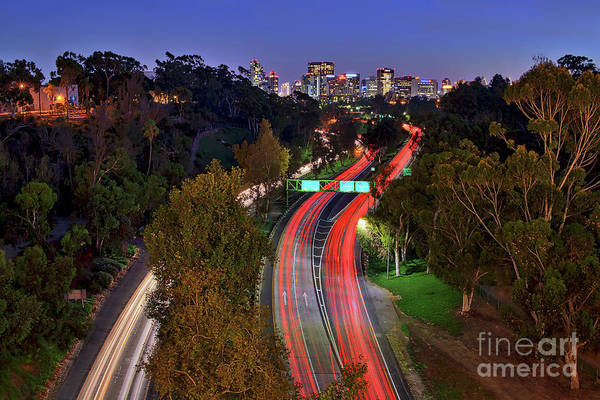 Photograph - All Roads Lead To Americas Finest City by Sam Antonio Photography