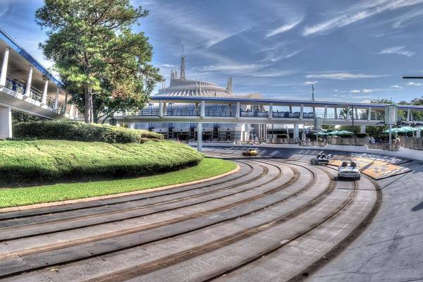 Tomorrowland Photograph - All Roads Lead To Space by Randy Dyer