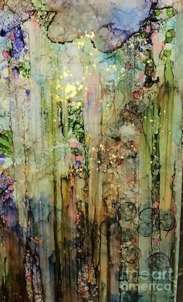 Painting - All That Glitters by Holly Suzanne