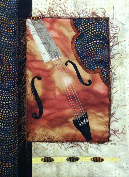 All That Jazz Bass Art Print