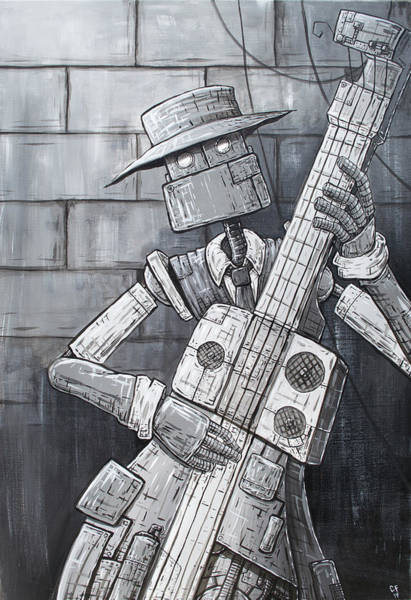 Wall Art - Painting - All That Jazz by Chase Fleischman
