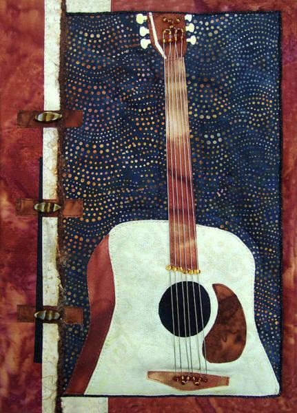 All That Jazz Guitar Art Print