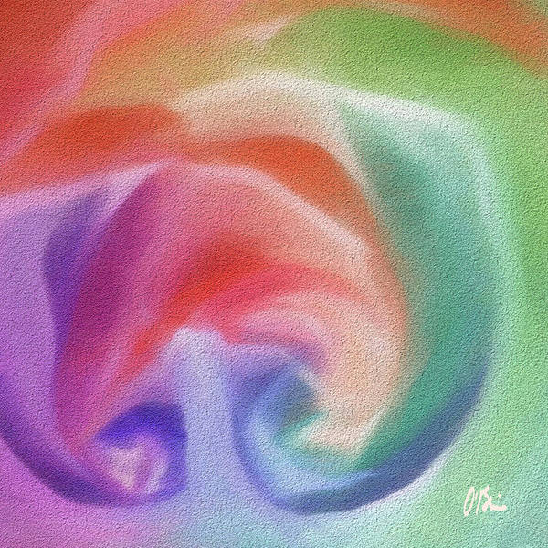 Essence Digital Art - All The Colors Of - Pastel Abstract I.jpg by Claudia O'Brien