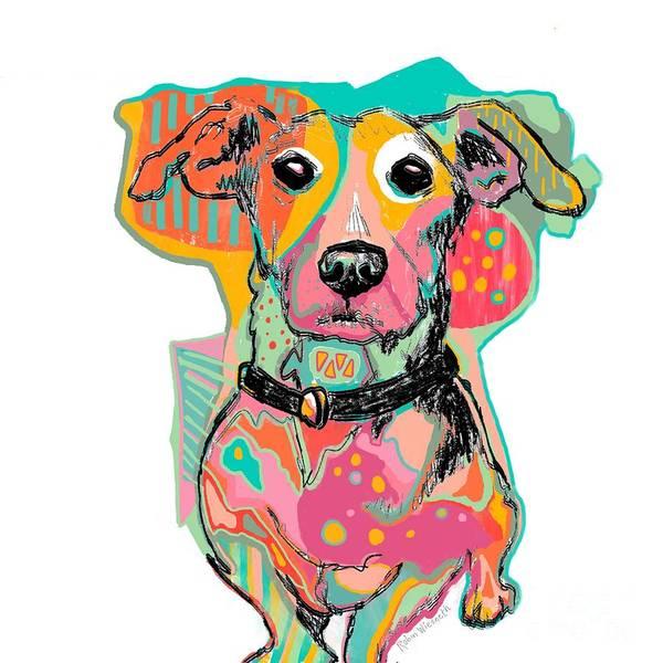 Wall Art - Digital Art - All The Crayons by Robin Wiesneth