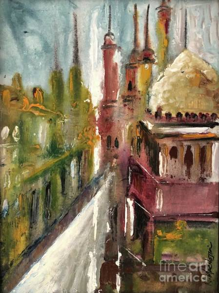 Painting - Mosque  by Nizar MacNojia