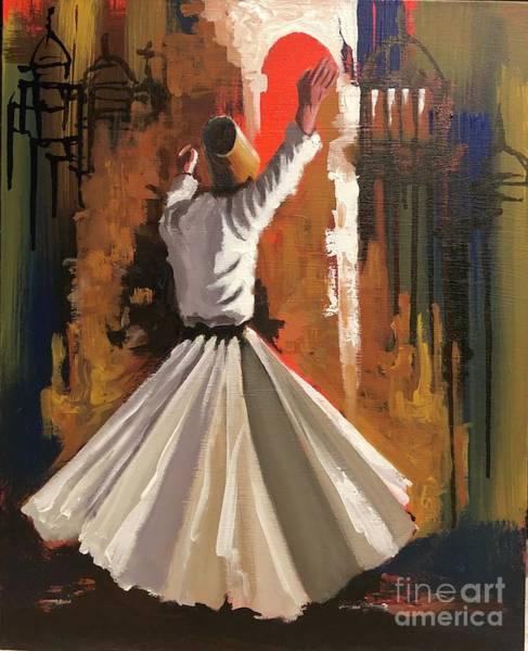 Painting - Allegiance  by Nizar MacNojia