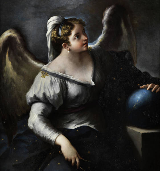 Wall Art - Painting - Allegory Of Astronomy by Paolo de Matteis