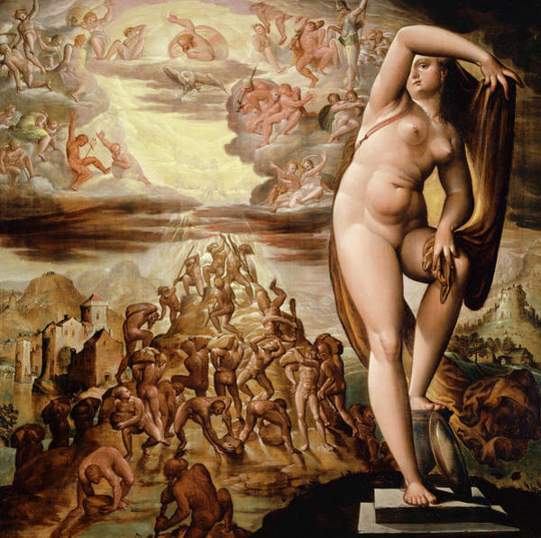 Wall Art - Painting - Allegory Of Day by Hans Bock