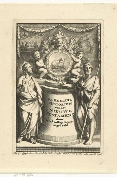 Metaphor Painting - Allegory Of The New Testament, Abraham De Blois, After Gerard De Lairesse, 1651 - 1679 by Gerard de Lairesse