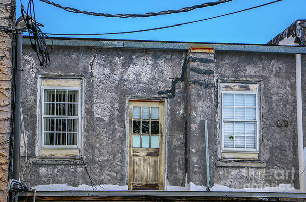 Photograph - Alley Door And Windows by Tom Claud