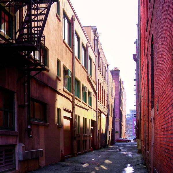 Wall Art - Photograph - Alley In Seattle by David Patterson