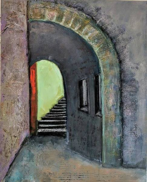 Painting - Alley Jaffa by Jillian Goldberg