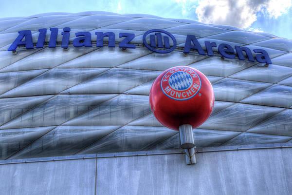 Wall Art - Photograph - Allianz Arena by David Pyatt