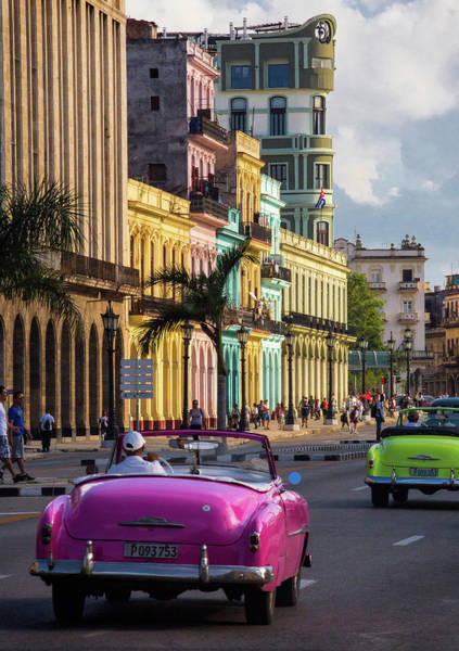 Photograph - Almendrones In Havana by Levin Rodriguez