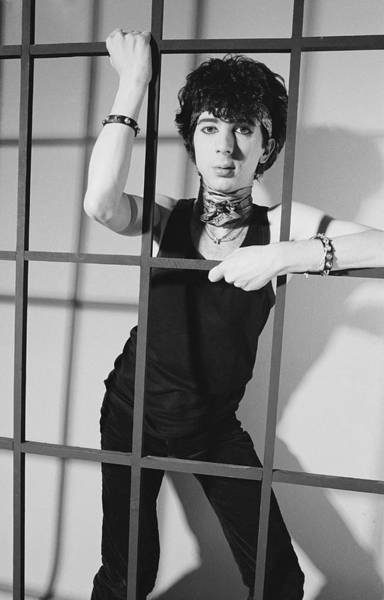 June Photograph - Almond Behind Bars by Fin Costello