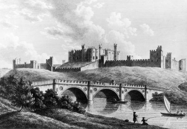 Printmaking Photograph - Alnwick Castle by Hulton Archive