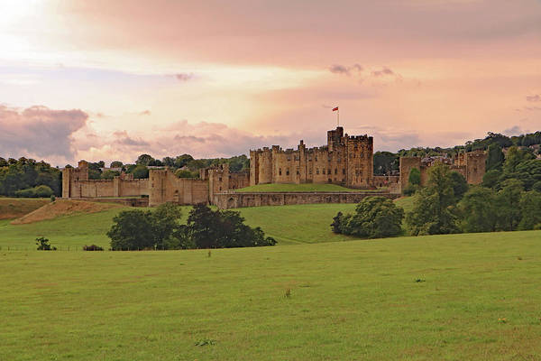 Photograph - Alnwick Castle by Tony Murtagh