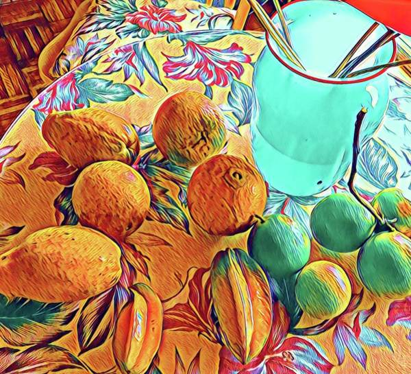 Photograph - Aloha Bounty Of The Day  by Joalene Young