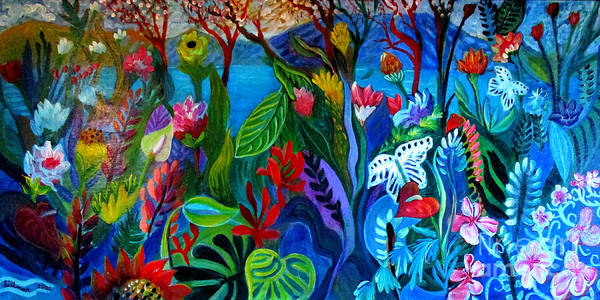 Wall Art - Painting - Aloha Nui by A Hillman