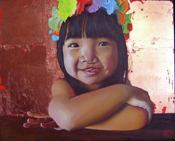 Painting - Aloha by Thu Nguyen
