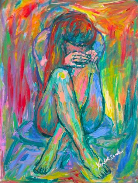 Painting - Alone by Kendall Kessler