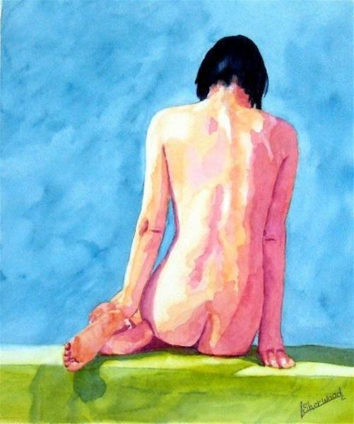 Painting - Alone With My Thoughts by Lorraine Germaine