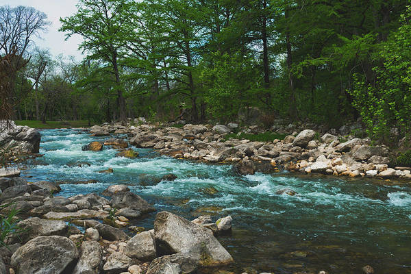 New Braunfels Photograph - Along The Guadalupe River by Mountain Dreams
