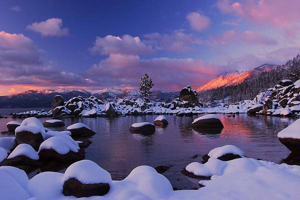 Photograph - Alpenglow Visions by Sean Sarsfield