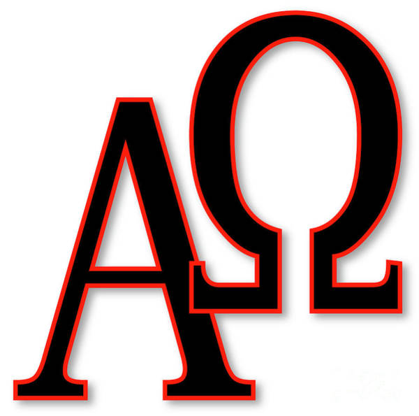 A To Z Digital Art - Alpha And Omega by Bigalbaloo Stock