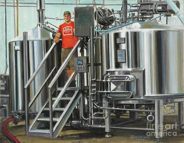 Wall Art - Painting - Alpha Brewing Co. by Don Langeneckert