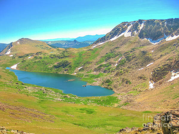 Photograph - Alpine Lake At Beartooth Highway by Benny Marty