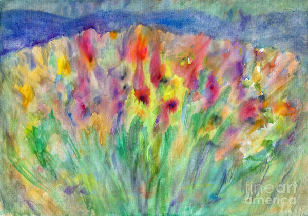 Painting - Alpine Meadow by Irina Dobrotsvet