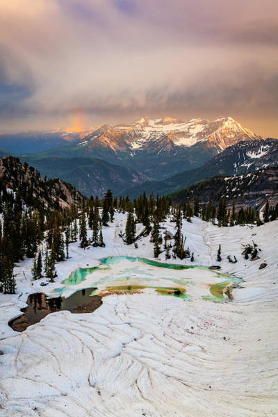 Wall Art - Photograph - Alpine Rainbow by Johnny Adolphson