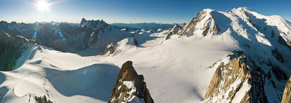Wall Art - Photograph - Alpine Snow Sunburst by Fotovoyager