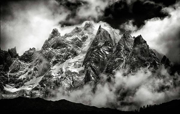 Photograph - Alps At Chamonix by Robert Woodward