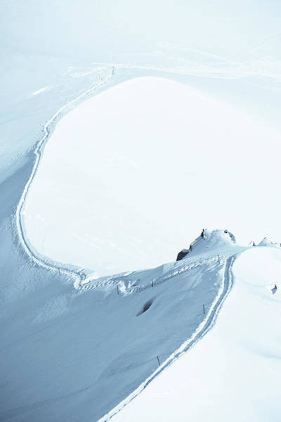 Extreme Sport Photograph - Alps Snow Mountain Adventure - Xlarge by Phototalk