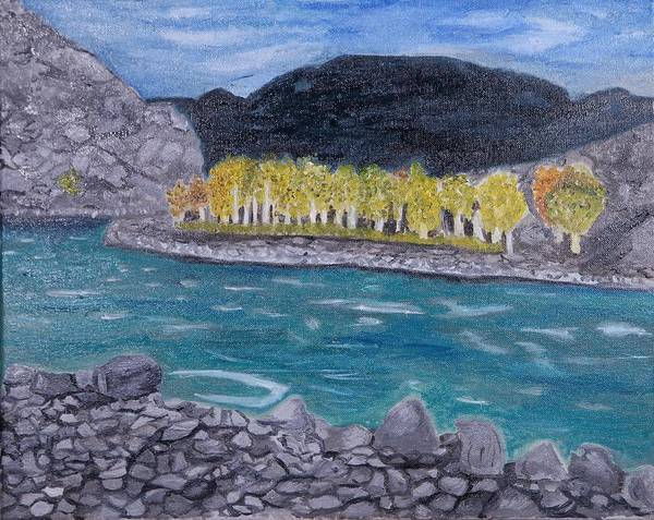Wall Art - Painting - Altai by Anna Andriyaka
