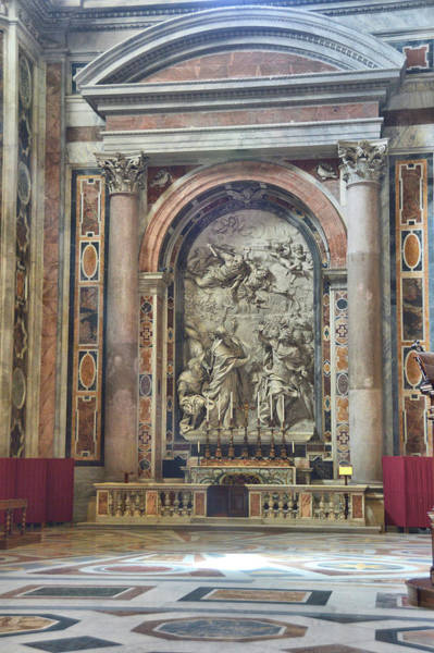 Photograph - Altar Of The St. Leo The Great by JAMART Photography